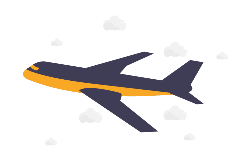 飛行機のチケット(海外移住の前にやるべき準備リスト)