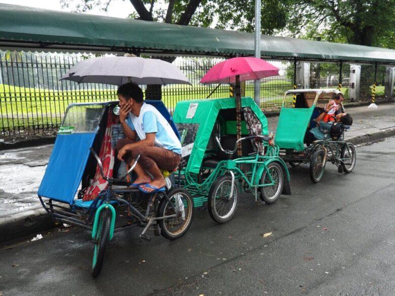 フィリピンの交通手段:ペディキャブ