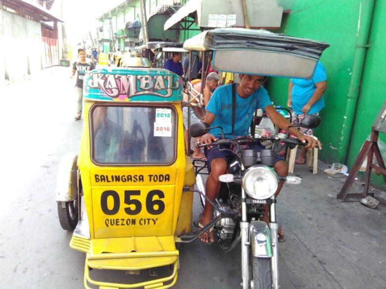 フィリピンの交通手段:トライシクル
